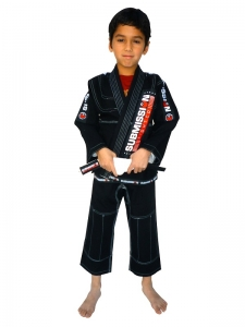 SubmissionFC Pearl Weave Kids Gi (Black)