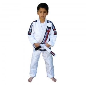 SubmissionFC Pearl Weave Kids Gi (White)