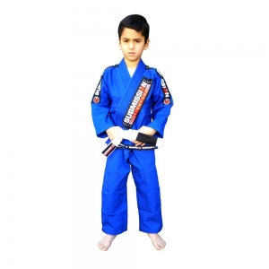 SubmissionFC Pearl Weave Kids Gi (Blue)