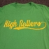 Submission High Rollers Organic BJJ T-Shirt - Brazilian Jiu Jitsu T-Shirt